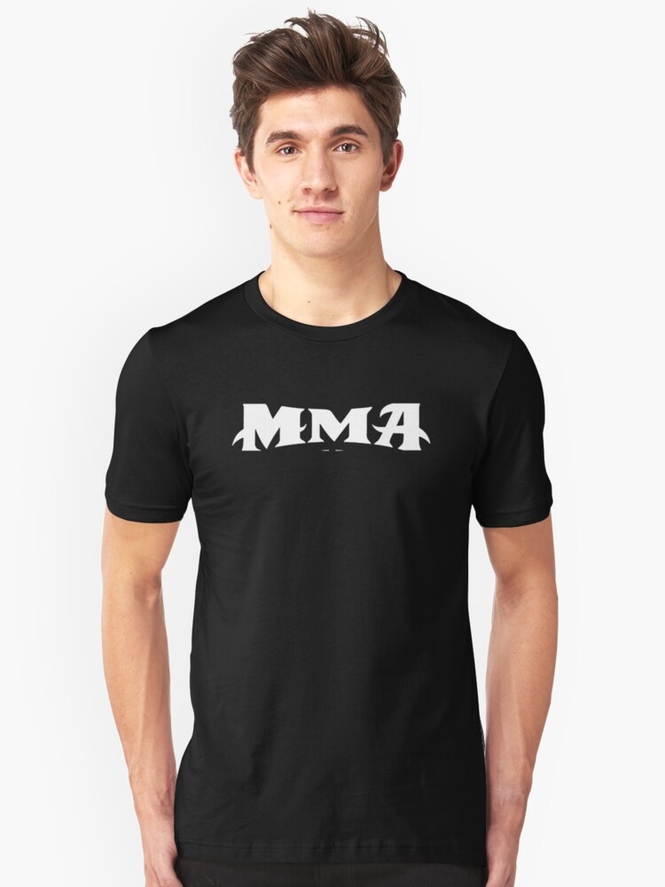 MMA UFC Cage Fighting Unisex T-Shirt Front