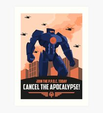 Pan Pacific Defense Corps (Pacific Rim) Art Print