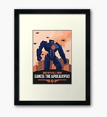 Pan Pacific Defense Corps (Pacific Rim) Framed Print