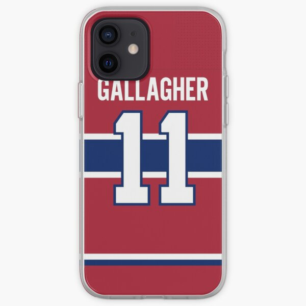 Montreal Canadiens Brendan Gallagher Home Jersey Back Phone Case iPhone Soft Case