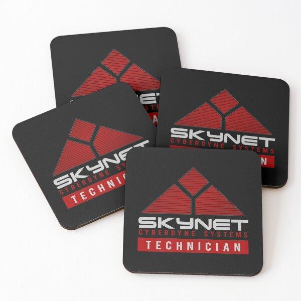 Skynet Cyberdyne Technician Systems Edition Dessous de verre (lot de 4)