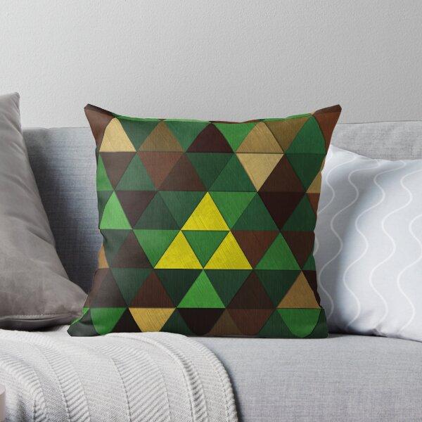 Triforce Quest Throw Pillow