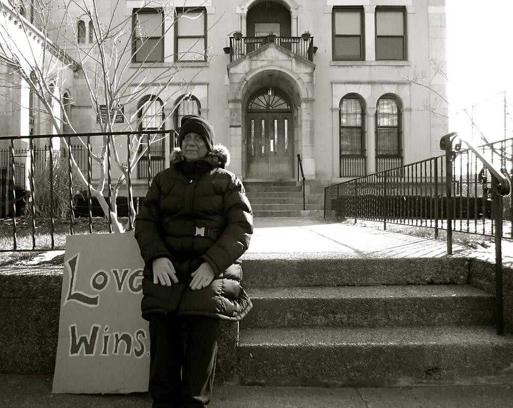 Love Wins.  by Rae Breaux