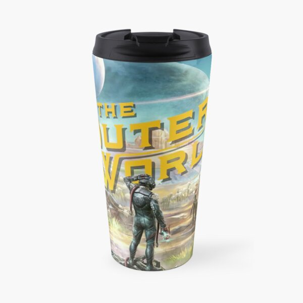 The Outer Worlds Travel Mug