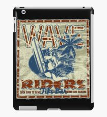 wave riders tiki bar iPad Case/Skin