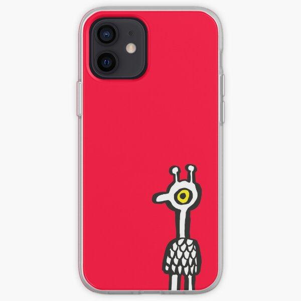 Birdie in Red iPhone Soft Case
