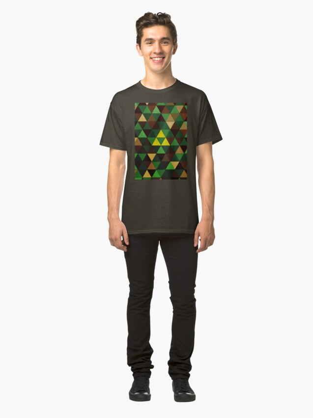 Alternate view of Triforce Quest Classic T-Shirt
