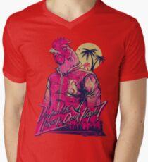 hotline miami richard Men's V-Neck T-Shirt