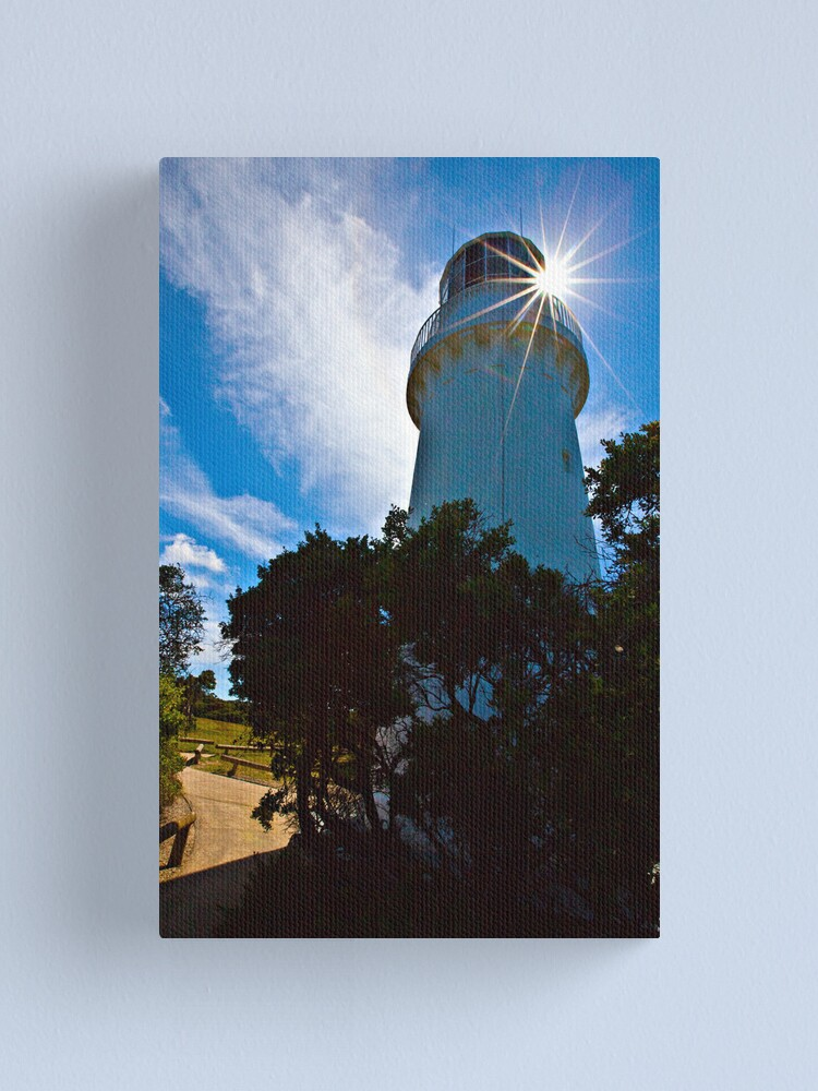 Alternate view of Cape Schanck Lighthouse Starburst Canvas Print