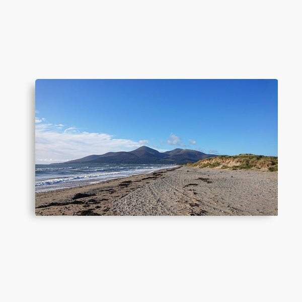 Murlough Beach, Mourne Mountains Canvas Print