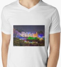 It's a Small World Mens V-Neck T-Shirt