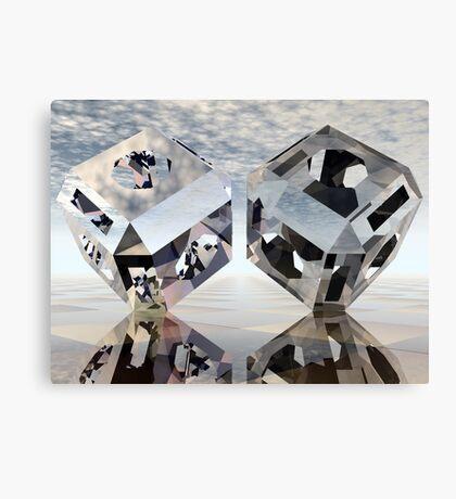 Refraction, Reflection, Tessellation Canvas Print