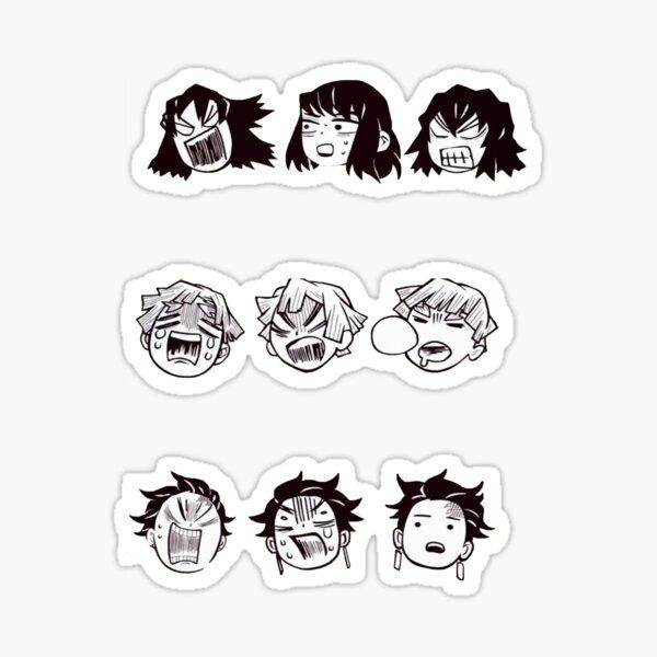 Kimetsu no yaiba Multi stickers Sticker