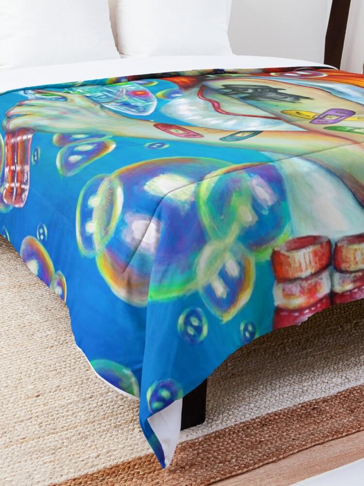 Alternate view of The best medicine Comforter