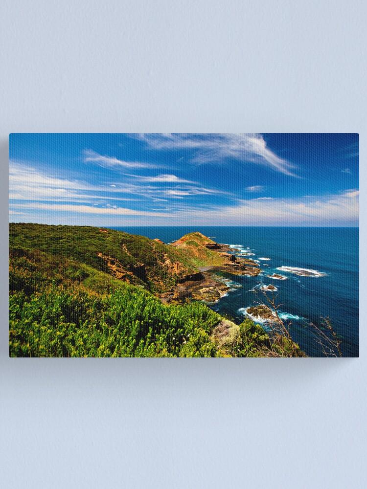 Alternate view of Cape Schanck - Victoria, Australia Canvas Print