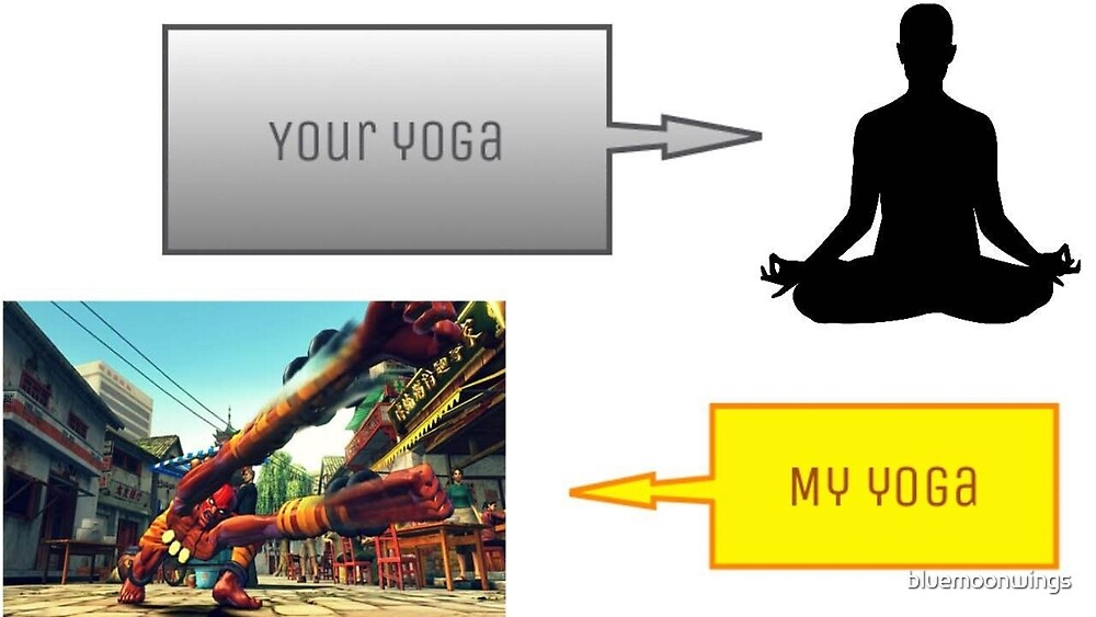 Street Fighter Yoga 2 by bluemoonwings