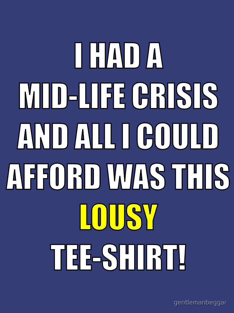 midlife crisis by gentlemanbeggar