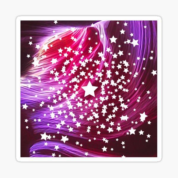 Abstract stars Sticker