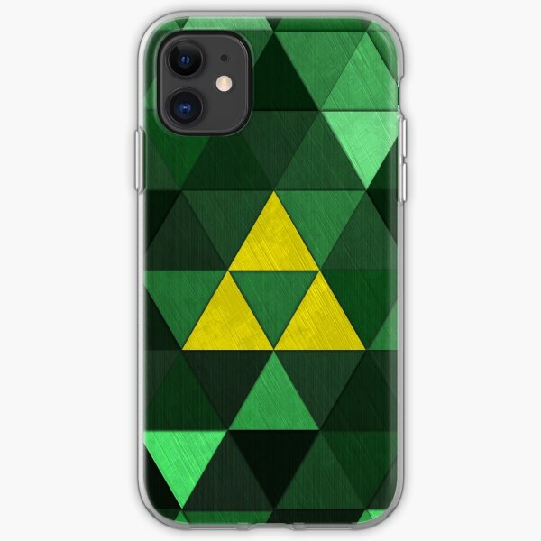 Triforce Quest (Green) iPhone Soft Case