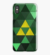 Triforce Quest (Green) iPhone Case