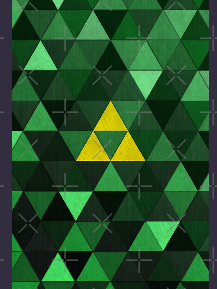 Triforce Quest (Green) by digital-phx