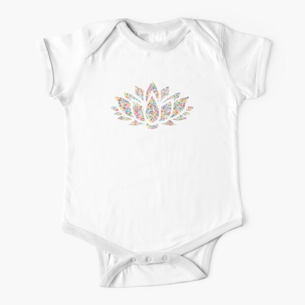 Lillypad Short Sleeve Baby One-Piece