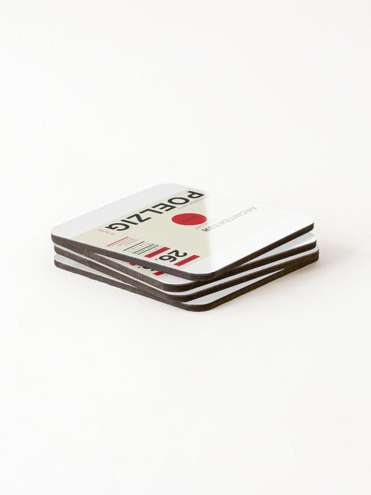 Alternate view of Bauhaus#11 Coasters (Set of 4)