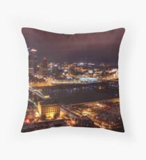 Steeler's Country Throw Pillow