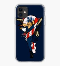SJ Inspired Coast Guard Pinup No 2 iPhone Case
