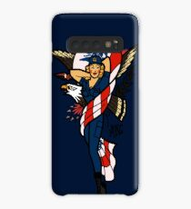 SJ Inspired Coast Guard Pinup No 2 Case/Skin for Samsung Galaxy