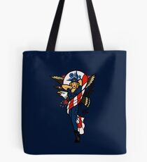 SJ Inspired Coast Guard Pinup No 2 Tote Bag