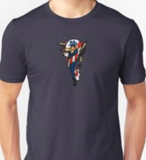 SJ Inspired Coast Guard Pinup No 2 Slim Fit T-Shirt