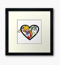 Brite Love Framed Print