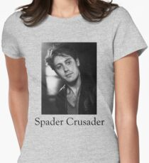 Spader Crusader Women's Fitted T-Shirt