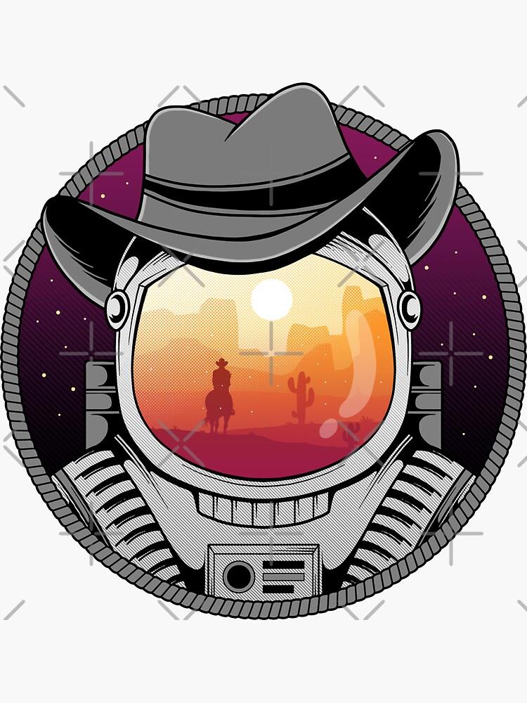 Cosmic Cowboy by GODZILLARGE