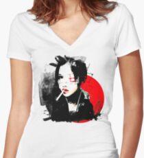 Sheena Ringo Women's Fitted V-Neck T-Shirt