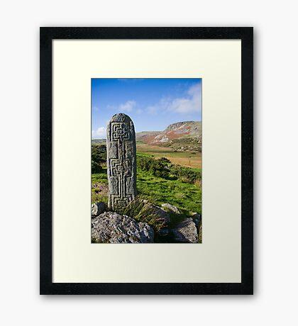 standing stone Framed Print