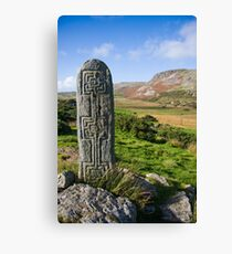 standing stone Canvas Print