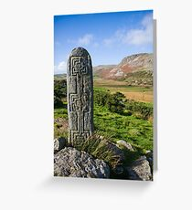 standing stone Greeting Card