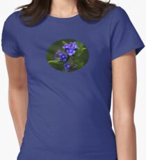 Omphalodes Verna - JUSTART ©  Womens Fitted T-Shirt