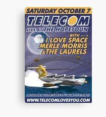 Telecom Modern Adventures EP Launch Sydney 2006 10 07 Canvas Print