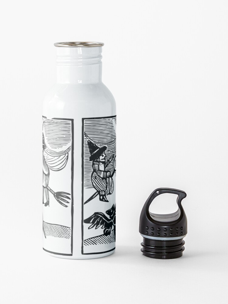 Alternate view of A Witch and Her Demons Water Bottle