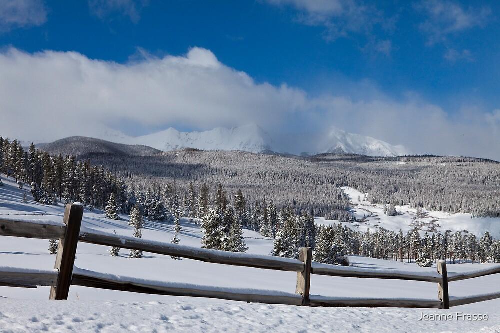 TenMile Range in Winter by Jeanne Frasse