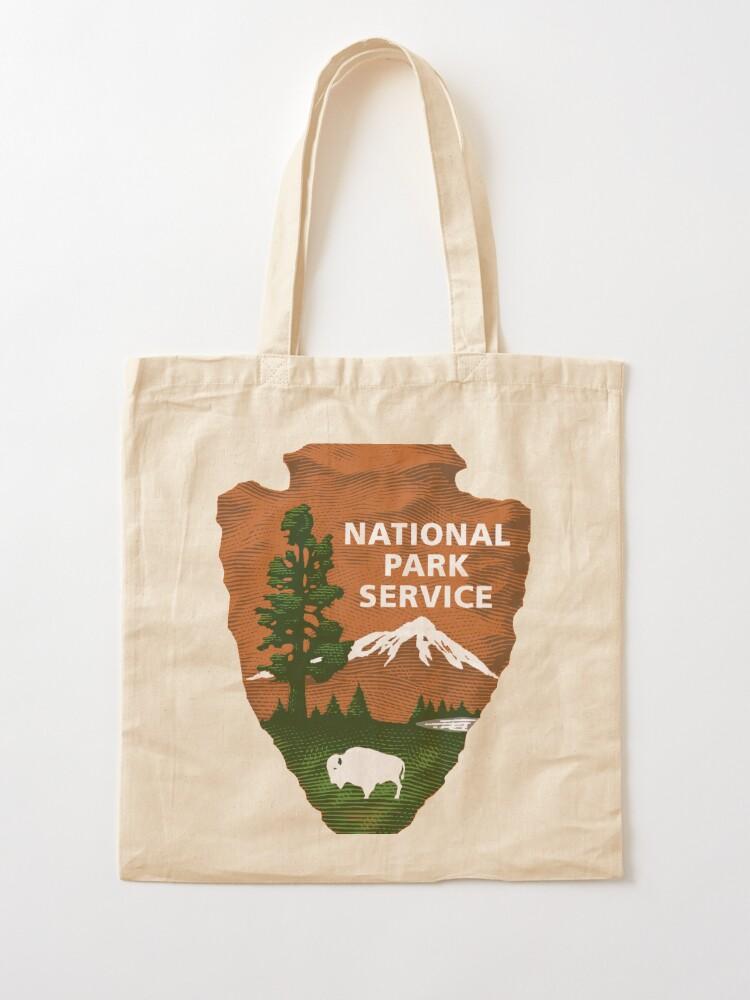 Alternative Ansicht von Nationalpark Service Stofftasche