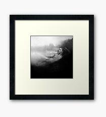 The Bath - Film Noir Style Framed Print