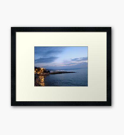 The Coast Framed Print