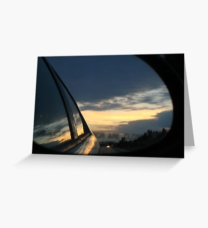 In the Mirror Greeting Card