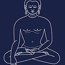 Meditate Buddha by Jacqui Fae