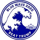 Blue Wave Beat Trump by EthosWear