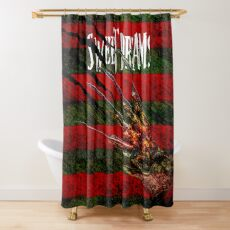 Freddy Krueger Sweet Dreams A Nightmare On Elm Street Shower Curtain